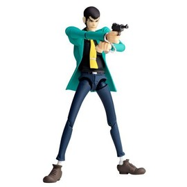Lupin The 3rd: Revoltech Yamaguchi No.129 Lupin Action Figurine