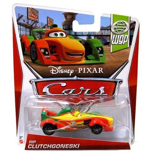 Mattel Disney Pixar Cars 2 RIP CLUTCHGONESKI WGP Series - Voiture Miniature Echelle 1:55