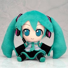 Miku Hatsune - Soft Toy Strap [Limited Edition]