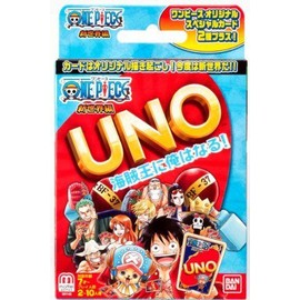 One Piece: The New World Part One Mattel Uno Carte Game