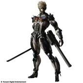 Metal Gear Rising Revengeance Play Arts Kai Lightning Custom Body Yellow (Japan Import)