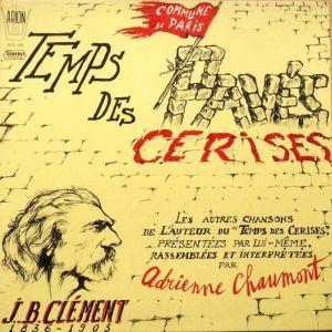 ADRIENNE CHAUMONT - Le Temps Des Paves Des Cerises - 33T
