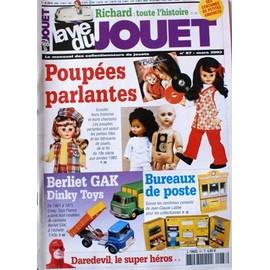 la vie du jouet 87 richard poupée parlantes dinky toys berliet gak bureau poste daredevil