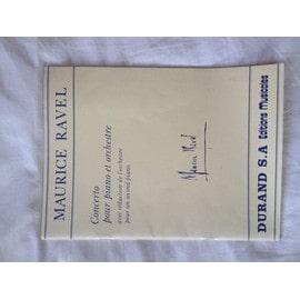 Maurice Ravel - Concerto pour piano et orchestre