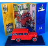 Tintin Willys Overland Jeep Station Wagon De L'affaire Tournesol