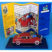 Tintin Car Atlas N� 26 Lancia Aurelia 1953 L'affaire Tournesol Herge