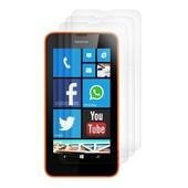 3x Film De Protection Pour �cran Nokia Lumia 630 / 635 Transparent. Qualit� Sup�rieure Sign�e Kwmobile