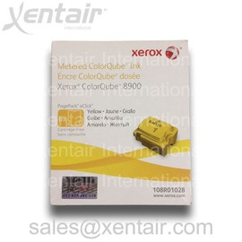 Xerox - Pack De 6 - Jaune - Original - Encres Solides - Pour Colorqube 8900, 8900_Sc, 8900x