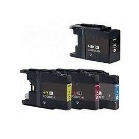 Compatible Brother Lc1280xl Value Pack - Cartouche D'impression - Haute Capacit� - 1 X Noir, Jaune, Cyan, Magenta - Bo�tier Rigide - Pour Mfc J5910dw, J6510dw, J6710dw, J6910dw