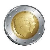 2 Euros Pays-Bas 2014 - Double Portrait - Neuve