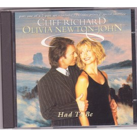 CLIFF RICHARD + OLIVIA NEWTON-JOHN CD MAXI had to be  Part One with Postcards