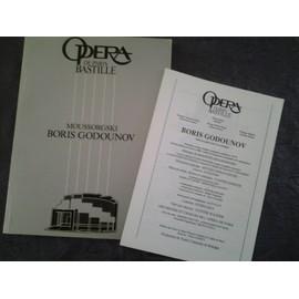 boris godounov - opéra bastille - 2004/2005