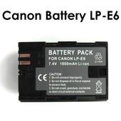 Mondpalast LP-E6 Remplacement Batterie Li-ion type avec infochip pour Canon 5D Mark II III 6D 7D 6