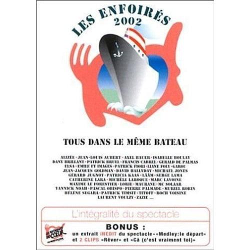 TOUS DANS LE MÊME BATEAU (LES ENFOIRÉS 2002) (DVD)