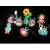 9 Figurines Mon Voisin Totoro 5-6 Cm