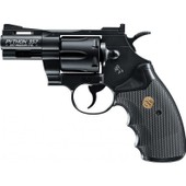 Revolver Colt Python 357 Magnum Co2 Noir Full Metal 2.5 Pouces 4.5 Mm Airgun 58193 / 4.5mm Arme A Air Comprime
