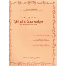 Spiritual et Danse Exotique pour saxophone alto et piano