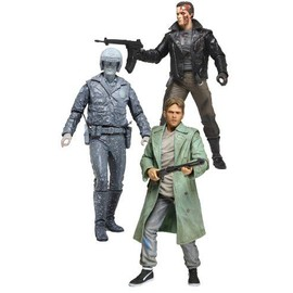 Terminator Collection - 7inch Action Figure Series 3 (Set Of 3) (Pvc Figure)