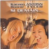 Bonnie Tyler + Kareen Antonn Cd Single Monotitre Si Demain Card Ps