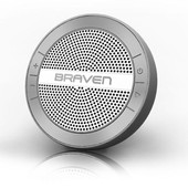 enceinte nomade bluetooth �tanche argent mira argent