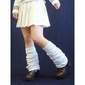 Loose Socks Chaussettes Montantes Pliss�es Gu�tres Uniforme Ecoliere Japonaise Sailor Fuku Japanese Schoolgirl D�guisement Costume Cosplay Soir�e Sortie