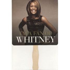 """Whitney Houston """"I Look To You"""" [Méga Rare Eventail Prom Officiel 2009 pré-sortie de l'album)"""