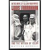 In The Name Of Elijah Muhammad, Louis Farrakhan And The Nation Of Islam de Gardell, Mattias