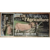 Billet Salon International De L'agriculture 2004