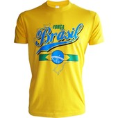 T-Shirt Bresil - Collection Supporter Football - Brasil - Tee Shirt Br�sil Taille Adulte