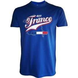 T-Shirt France - Collection Supporter Football - Tee Shirt - Taille Adulte