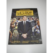 Carte Projections Presse Le Loup De Wall Street Scorsese Dicaprio Wolf W. Steet