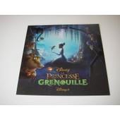 Carte Invitation Projections Presse Disney La Princesse Et La Grenouille