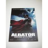 Rare Carte/Card Invitation Projections Presse Albator Aramaki Matsumoto Toei