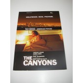 Carte Invitation Projection Presse The Canyons Lindsay Lohan James Deen Schrader