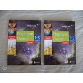 Physique Chimie Tle S Tome 1 Et 2 de PREVOST et RICHOUX