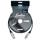 Adam Hall - C�ble Microphone Liveline XLR M�le / Femelle