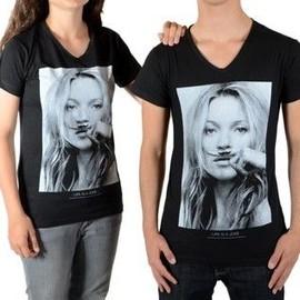 Tee Shirt Little Eleven Paris Kate Moss Ss Kate Moss Mixte (Gar�on / Fille) Noir