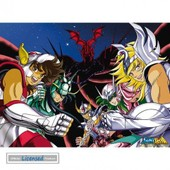 Saint Seiya Mini Poster - Bronze Saints (52x38 Cm)