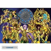 Saint Seiya Poster - Gold Saints (98x68 Cm)