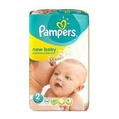 Couches New Baby Taille 2 Mini (3-6 Kg) - G�Ant X 56 Couches