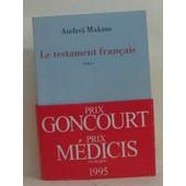 Le Testament Francais de Andrei Makine