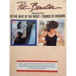 """PAT BENATAR Selections from """"In the heat of the night / Crimes of passion"""