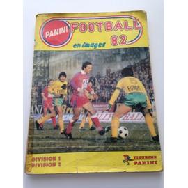 Panini Football 82 N� 1982