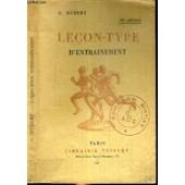 Lecon-Type D'entrainement - 10�me Edition. de g. hebert