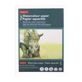 Bloc 12 Feuilles Papier Aquarelle A5 14,8 X21 Cm 300g/M� Derwent