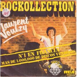 """7"""" PS Rockollection part I / Part II  PRESSAGE ESPAGNOL"""