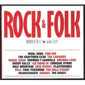 Rock & Folk, Monster Cd N�47, Juillet 2014, Rival Sons, Amanda Lear, Chrissie Hynde, Plastiscines...