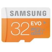 Samsung 32 Go Evo Micro Sd Memory Card Class 10 Uhs-I Carte M�moire Highspeed Bulk Pack