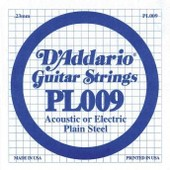 D'addario Pl009 - Corde Au D�tail Guitare �lectrique Acier Plein 009