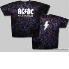 T-Shirt AC/DC - Back In Black - Homme - X Large - Import Direct USA